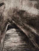 <p><em>Travelling Through the Rain</em>, 9″ x 7″, ink on yupo paper</p>