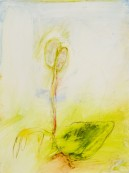 <p><em>The Strength of Taking Refuge in Nature</em>, 9″ x 12″, watercolor on yupo paper</p>